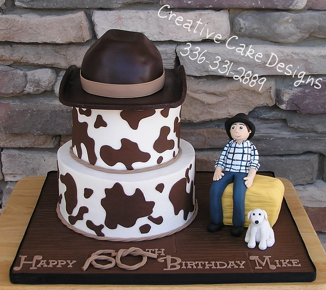 Th Male Cowboy Birthday Cakes
