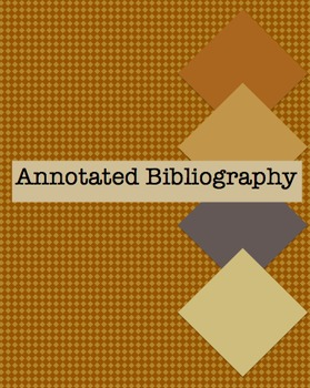 how to prepare an annotated bibliography Annotated bibliography is a type of bibliography where list to citations or quotations are made to books, articles and other documents it is a document that states the referenced works and provides a short description and evaluation of the selected works called the annotation.