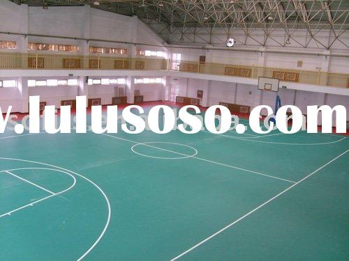 How much does a backyard basketball court cost for Indoor basketball court flooring cost